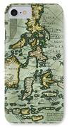 Map Of The East Indies IPhone Case