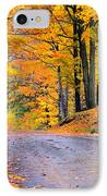 Maples Of Rupert Vermont IPhone Case by Thomas Schoeller