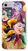 Mardi Gras Images IPhone Case by Diane Millsap