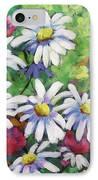 Marguerites 001 IPhone Case