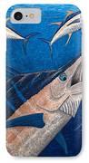 Marlin And Ahi IPhone Case by Carol Lynne