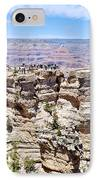 Mather Point At The Grand Canyon IPhone Case by Julie Niemela