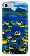 Maui Butterflyfish IPhone Case by Dave Fleetham - Printscapes