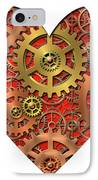 Mechanical Heart IPhone Case by Michal Boubin