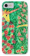 Meeting In The Rose Garden IPhone Case by Sushila Burgess