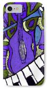 Melllow Jazz IPhone Case