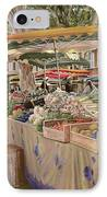 Mercato Provenzale IPhone Case by Guido Borelli