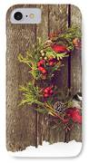 Merry Christmas. IPhone Case by Kelly Nelson