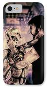 Metropolis Revisited  IPhone Case by Bob Orsillo