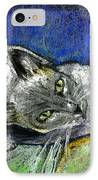Michael Campbell IPhone Case by Arline Wagner