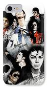 Michael Jackson - King Of Pop IPhone Case