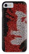 Michael Jackson Bottle Cap Mosaic IPhone Case by Paul Van Scott