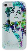 Michael Jackson IPhone Case by Naxart Studio