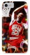 Michael Jordan Magical Dunk IPhone Case