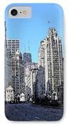 Michigan Ave Wide IPhone Case