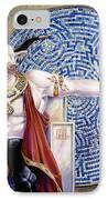 Minotaur With Mosaic IPhone Case