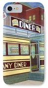 Miss Albany Diner IPhone Case
