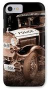 Model A Culver City Police Bw IPhone Case
