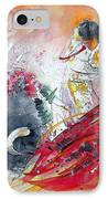 Moment Of Truth 2010 IPhone Case by Miki De Goodaboom