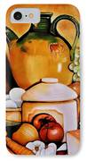 Mom's Kitchen IPhone Case by Dalgis Edelson
