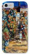Monets Flower Garden IPhone Case