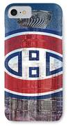 Montreal Canadiens City IPhone Case