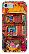 Montreal Early Autumn IPhone Case by Carole Spandau