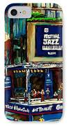 Montreal Jazz Festival Arcade IPhone Case