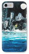 Moon Over Miami IPhone Case by Jorge Delara