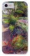 Morning Break In The Garden IPhone Case