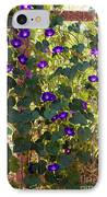 Morning Glories IPhone Case by Margie Hurwich