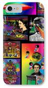Mosaic Of Retrocollage I IPhone Case by Eric Edelman