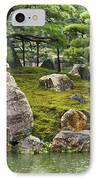 Mossy Japanese Garden IPhone Case