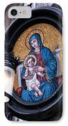Mother And Child IPhone Case by John Rizzuto