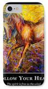 Motivational Horsea IPhone Case