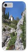 Moustier St. Marie Church IPhone Case