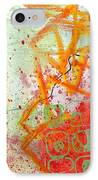 Moving Through 34 IPhone Case by Jane Davies