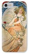 Mucha: Poster, 1898 IPhone Case