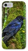 Muir Woods Raven 001 IPhone Case by Lance Vaughn