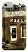 Musicians Local 67 IPhone Case