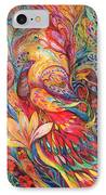 Mystery Of Blue Pigeons IPhone Case