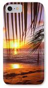 Napili Bay Sunset Maui Hawaii IPhone Case