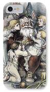 Nast: Christmas, 1879 IPhone Case