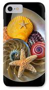 Nautilus With Sea Shells IPhone Case