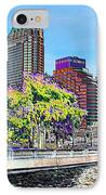 Neon Tampa IPhone Case by Carol Groenen