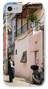 Neve Tzedek Neighborhood In Tel Aviv IPhone Case by Zalman Latzkovich