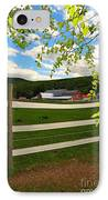 New England Farm IPhone Case by Catherine Reusch Daley
