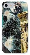 New Life In Ancient Time-space IPhone Case by Sarah Loft
