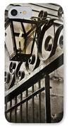 New Orleans Gaslight IPhone Case by Beth Riser