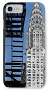 New York Watercolor 3 IPhone Case